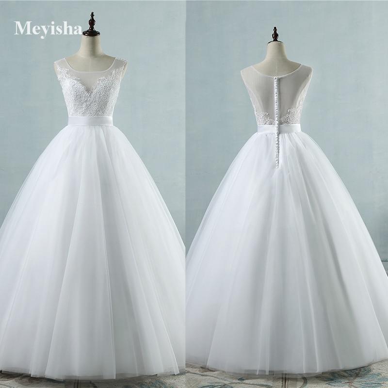 ZJ9042 Hot Sale Chiffon Beach Dresses for Wedding Empire Beaded Bohemian Bridal Gowns Button Back Elegant