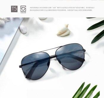 Xiaomi Mijia солнцезащитные зеркальные линзы стекло UV400 Turok Steinhardt TS бренд нейлон поляризованные нержавеющая стекло Es Открытый путешествия мужчин...