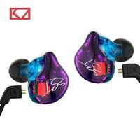 Hot KZ ZST 1DD 1BA Hybrid In Ear Earphone HIFI DJ Monito Running Sport Earphones Earplug