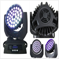 Hong Yi Stage Lighting (4 pieces/lot) moving head led wash dmx zoom beam 36x12w rgbw led disco ball moving led spot lighting