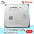AMD AthlonII x4 730 ПРОЦЕССОР Quad-Core 2.8 ГГц/65 Вт FM2 904pin Настольный процессор AD730XOKA44HJ НОВЫЙ (работает 100% Бесплатная Доставка)
