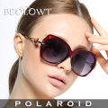 BEOLOWT women's UV400 Polarized Sunglasses Driving Aluminum Magnesium Alloy Sun Glasses for women  with Case Box 4 Colors BL432