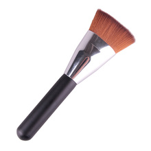 FGHGF 1pcs Pro Round Top Makeup Brush Cosmetic Loose Powder Foundation Compact Blusher Contour Highlighter Tool