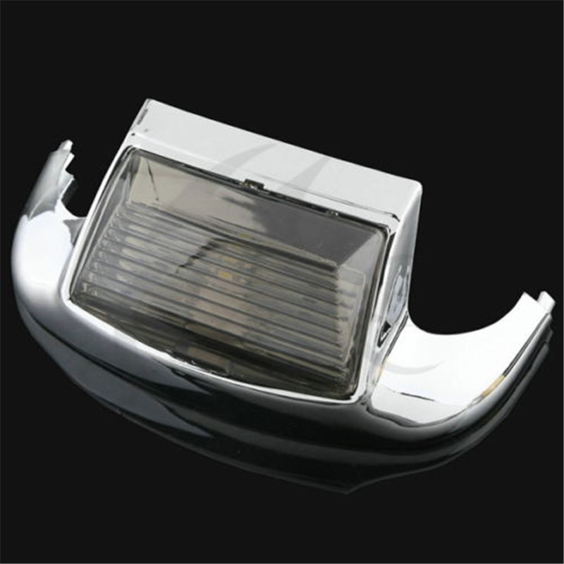 ABS Smoke Front Fender Tip Light for Harley FLHTCU Ultra Classic Electra Glide