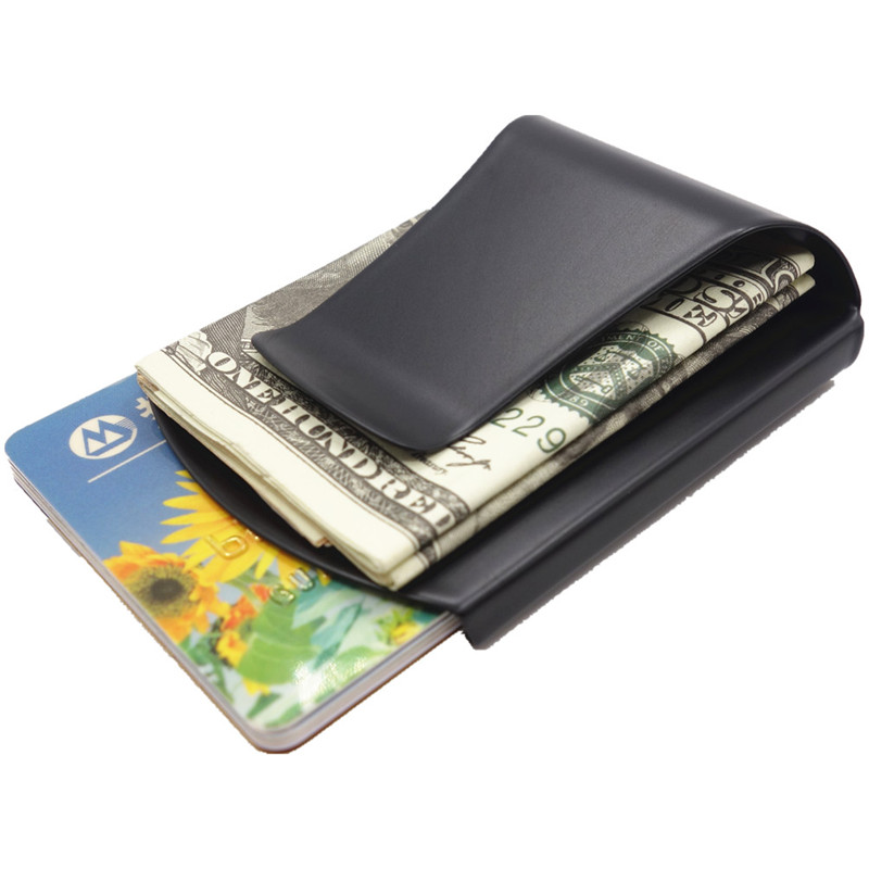 Stainless steel slim money clip wallet credit card case business stainless steel slim money clip wallet credit card case business card credit card clamp cash wallet in money clips from luggage bags on aliexpress colourmoves