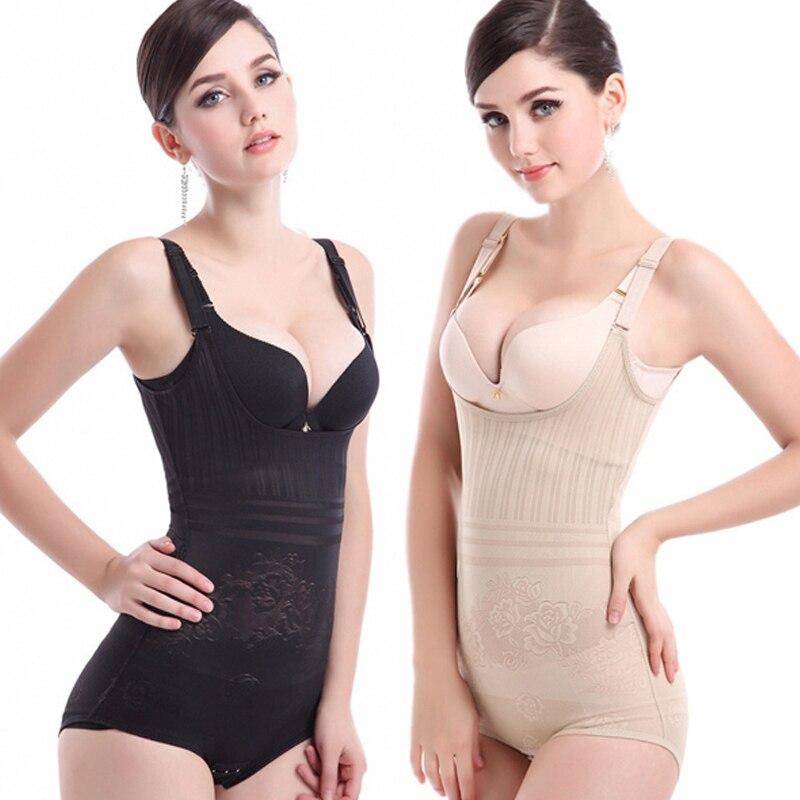 Sexy Lingerie Manufacturer 2017 New XS-XXL Women Sexy Slimming Shapewear Underwear High Elastic Adjustable Bodysuits Breathable Waist Body Shaper Corsets