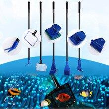 1 Набор инструментов для очистки аквариума многоцелевой простой в сборке инструмент для аквариума DC120
