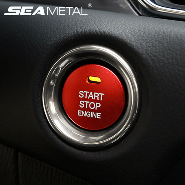 START Engine Button Replace Cover STOP Key Accessories Switch Decoration Universal For Mazda 3 BM BN 6 GJ1 GL CX-4 CX4 CX-5 CX5