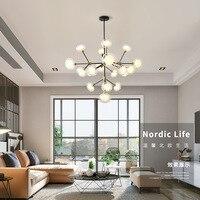 Nordic Postmoderna LED Illuminazione lampadario a sospensione apparecchi di illuminazione soggiorno sospeso apparecchi di illuminazione loft lampadario