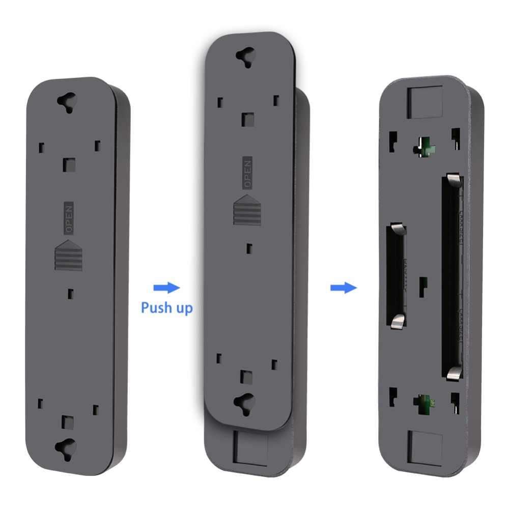 5 светодиодов беспроводной Ночной светильник шкаф гардероб лестница кухня спальня ночник ящик светильник er