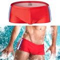 High Quality Boards Beach Shorts Men Swimwear Swimsuits Bathing Suits Low Waist Breathable Tight Underwear Boxers