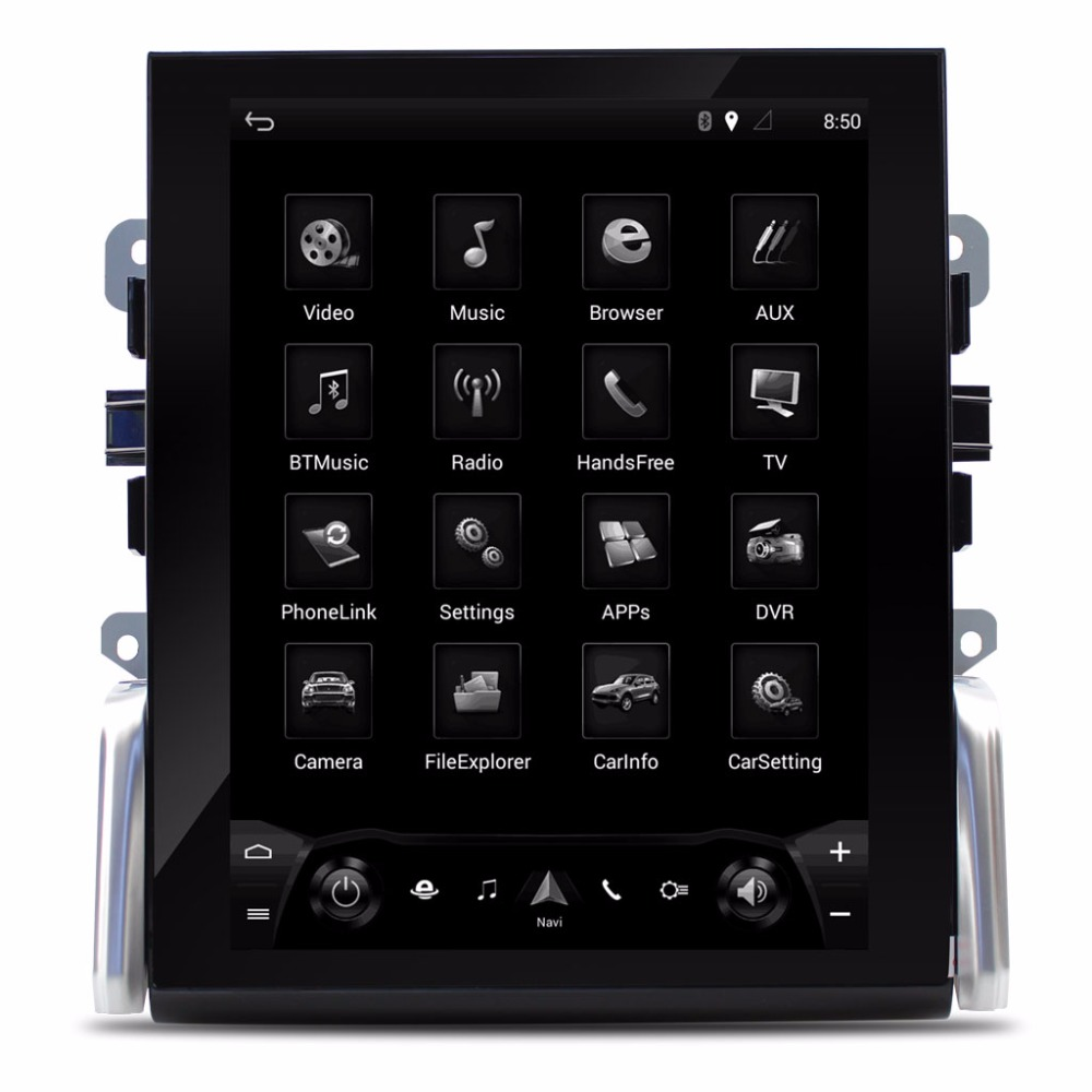 Lecteur multimédia de voiture système Intelligent de voiture de 10.4 pouces pour Porsche Panamera 2010-2016 avec Navigation GPS MP5 Bluetooth Wifi