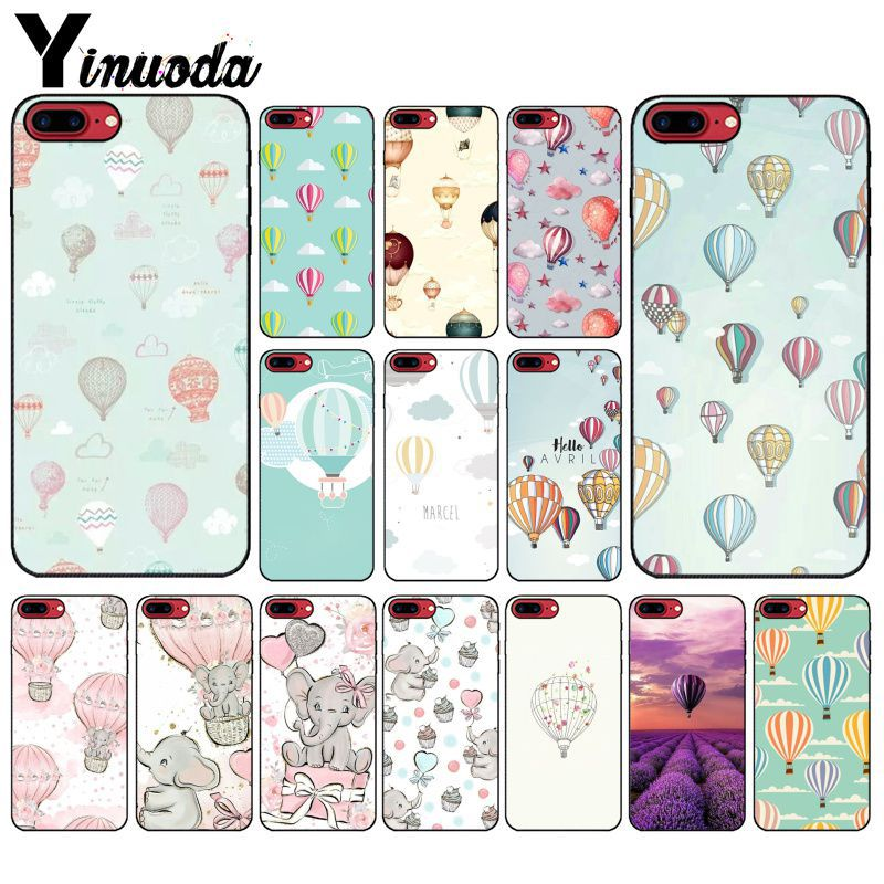 Buy Yinuoda Cute cartoon hot air balloon Customer High Quality Phone Case for Apple iPhone 8 7 6 6S Plus X XS MAX 5 5S SE XR Cover for only 1.09 USD