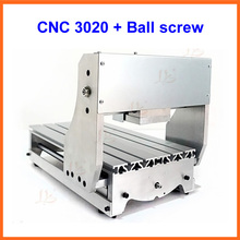MINI lathe bed frame CNC engraving machine DIY 3020 aluminum alloy ball screw