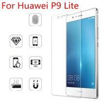 Vidrio templado para Huawei P9 Lite, Protector de pantalla Premium 9H 2.5D 0,3mm, película de protección antiarañazos para Huawei P9 Lite
