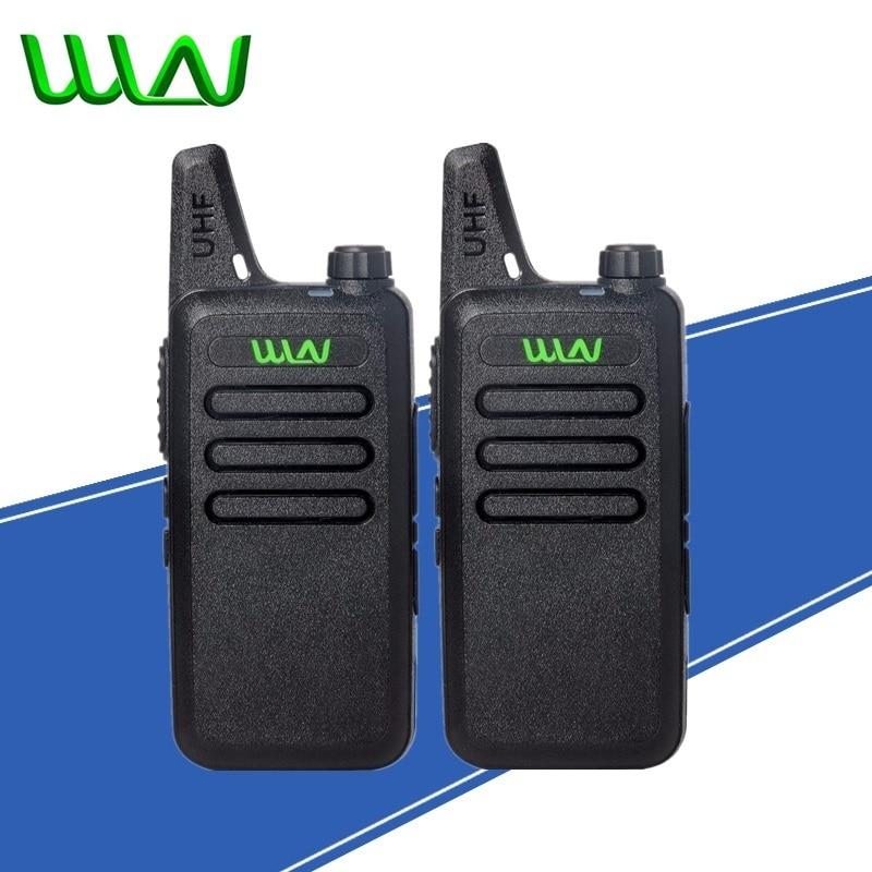 2Pcs Mini Two Way Radio Handheld Kd C1 Portable Walkie Talkie C1 Wireless Radio Transceiver HF WLN KD C2 Ham Radio Comunicador in Walkie Talkie from Cellphones Telecommunications