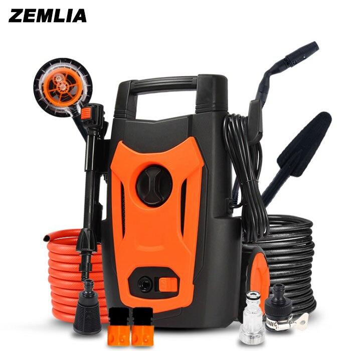 High Pressure Car Wash Machine 220v Household Washing Machine Car Wash Pump Water Gun Portable Free