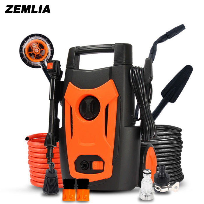 High Pressure Car Wash Machine 220v Household Washing Machine Car Wash Pump Water Gun Portable 480l h portable wash device car washing machine cleaning pump household high pressure car wash pump