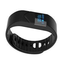 Scls Фитнес спортивный смарт-браслет Bluetooth V4.0 IP68 Водонепроницаемый сердечного ритма Мониторы черный