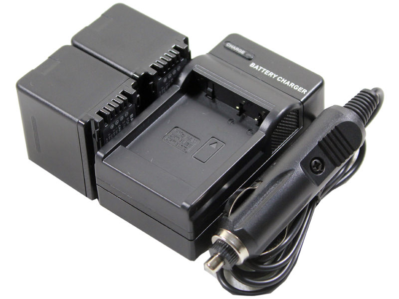 0New 2 Piece VW VBK360 Camera Battery With Charger For HDC HS60