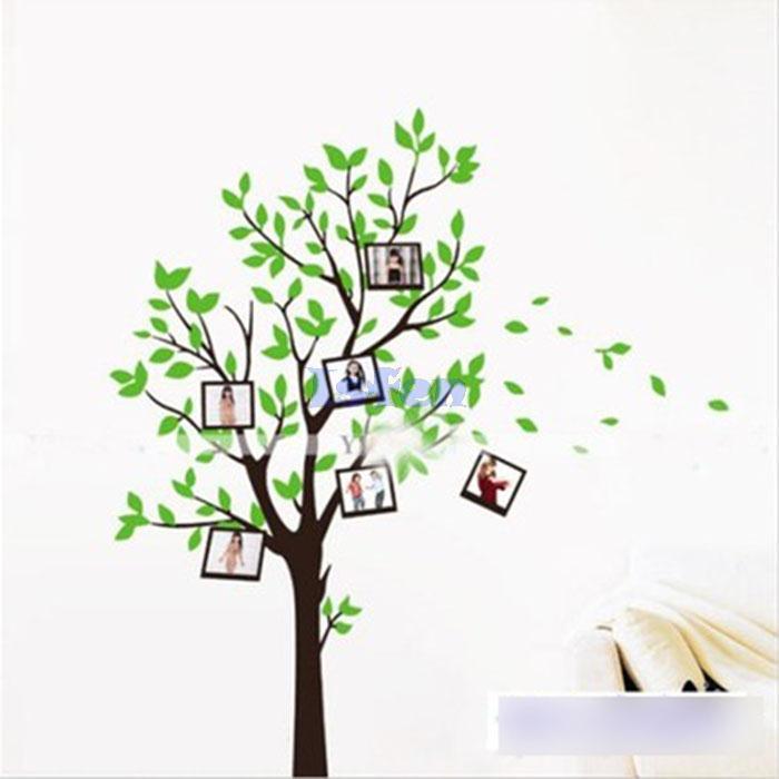 Nº2014 nuevo desmontable deseando árbol foto Marcos vinilo arte ...