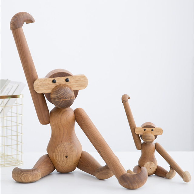 Wooden Monkey by Kay Bojesen 3