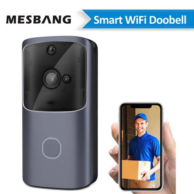 Door bell ring camera wireless chime