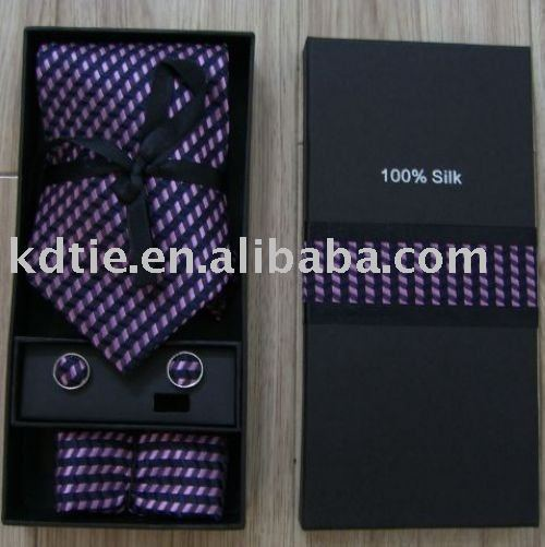 Can make custom label.mixed patterns,Tie Box Sets,Tie Gift Sets,Tie Sets,box+necktie+handky+cufflinks