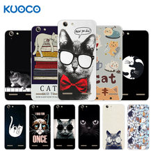 For Lenovo Vibe K5 / K5 Plus Lemon 3 A6020a40 A6020 A40 Back Cover Silicone Dif Cat Design For Lenovo Vibe K5 Plus Case(China)