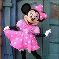Быстрая бесплатная доставка свадьба минни костюм талисмана розовый минни маус костюмы для взрослых костюм характера необычные платье