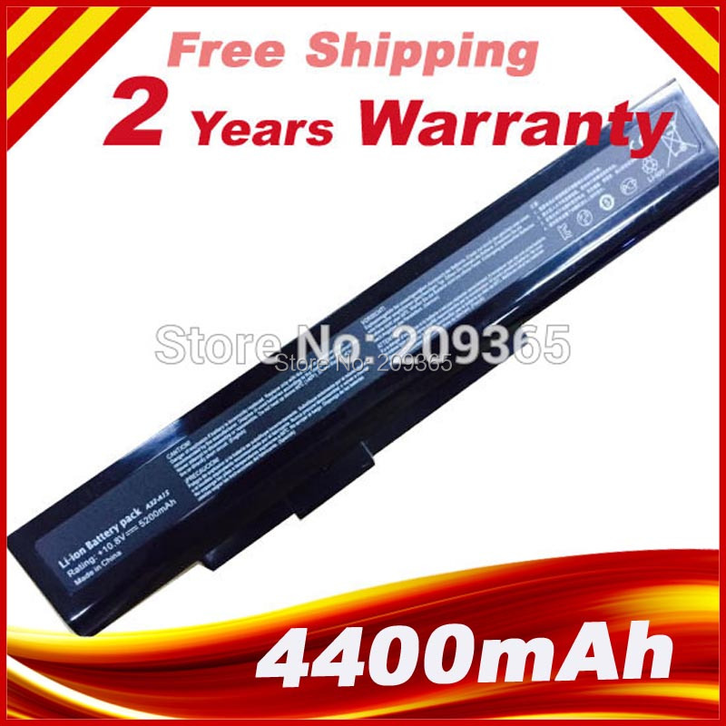 NEW Replacement Laptop Battery for MSI A6400 CR640 CR640MX CR640X CX640 CX640DX CX640MX A32-A15 A41-A15 A42-A15