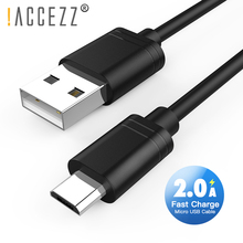 !ACCEZZ Micro USB Charging Sync Data Cable For Samsung S6 S7 Xiaomi 4 LG Charge Cables Redmi Huawei Charger Cord 0.25M2M
