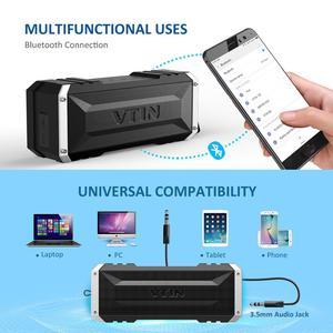 Image 4 - VTIN Punker Портативный беспроводной Bluetooth динамик 20 Вт Выход двойной 10 Вт водители Открытый водонепроницаемый динамик с микрофоном для смартфонов