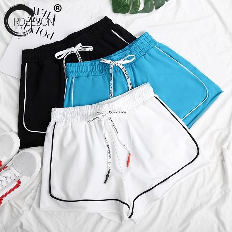 ORDEESON 2018 New Summer Fashion Girl High Waist Casual Hot Shorts Loose Lace Sweatpants Slim Wide Leg Pants Womens Clothing