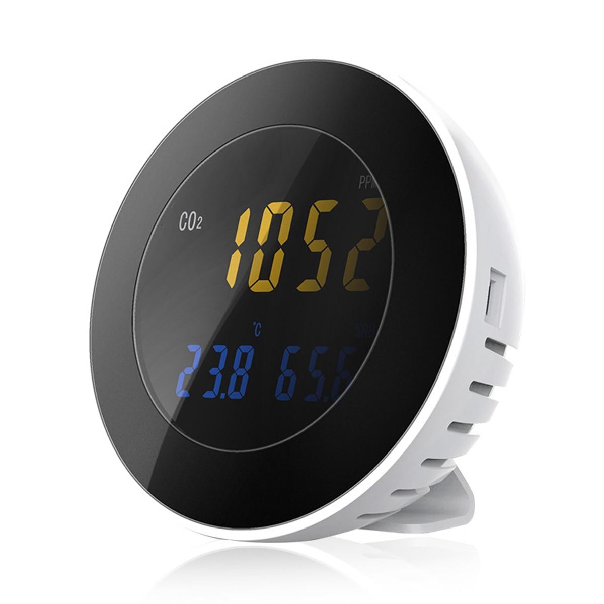 Retail Hti NEW HT-501 3 in 1 Co2 Meter Temperature Hygrometer Digital Portable Gas Leak Detector Analyzer co2 Monitor Tester недорого