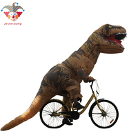 Anime Cosplay Inflatable Dinosaur T REX Costumes For Women Blowup T Rex Dinosaur Halloween Inflatable Mascot Costume For Adult