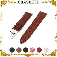 12mm 14mm 16mm 18mm 20mm 22mm Leather Watch Band for Timex W