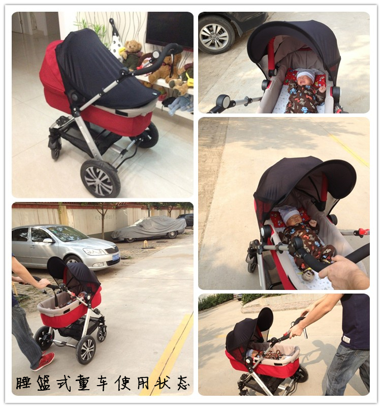 Rayflee Baby Stroller Sun shade Canopy Kids Pram Sunshade Cover UV proof Children Push Cart Universal Canopy Baby Car Seat Cover-in Strollers Accessories ... & Rayflee Baby Stroller Sun shade Canopy Kids Pram Sunshade Cover UV ...