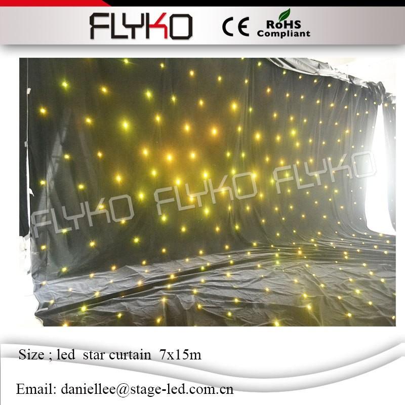 LED star curtain2641