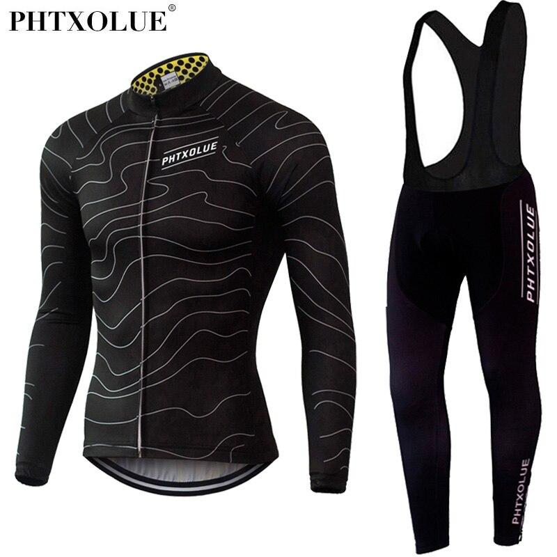Phtxolue térmico Invierno Polar ciclismo ropa de bicicleta MTB ciclismo camisetas CONJUNTOS DE 2016 hombres ciclismo Jersey conjuntos QY069