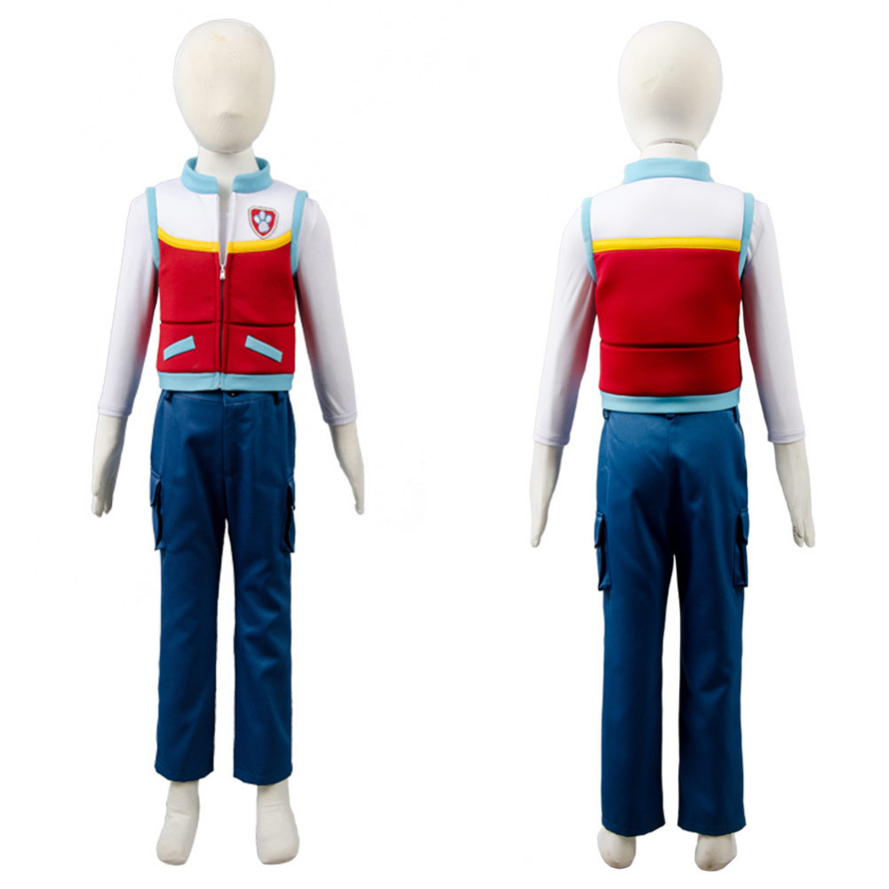 HOT Anime Ryder Kids Costume Cosplay Full Set Uniform For Children/Kids Party Hallween Carnival Costume Full Sets