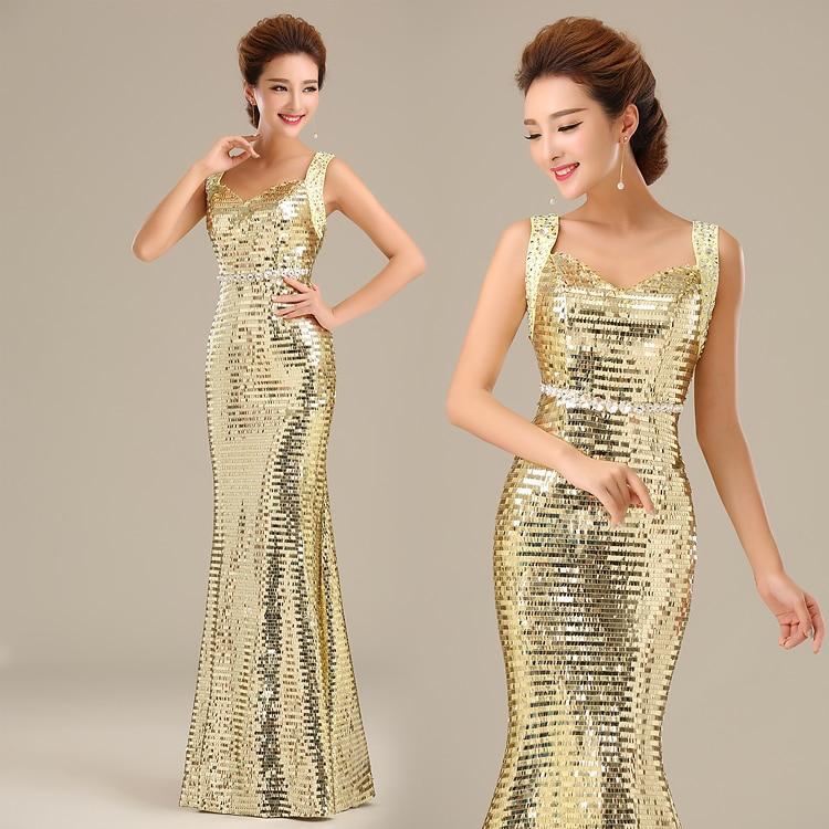 Золотые платья напрокат