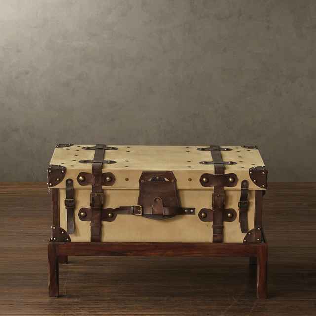 India Imports 40% Off Deals Nostalgic Retro Suitcase Handicraft Fogg Coffee  Table L Models Teasideend
