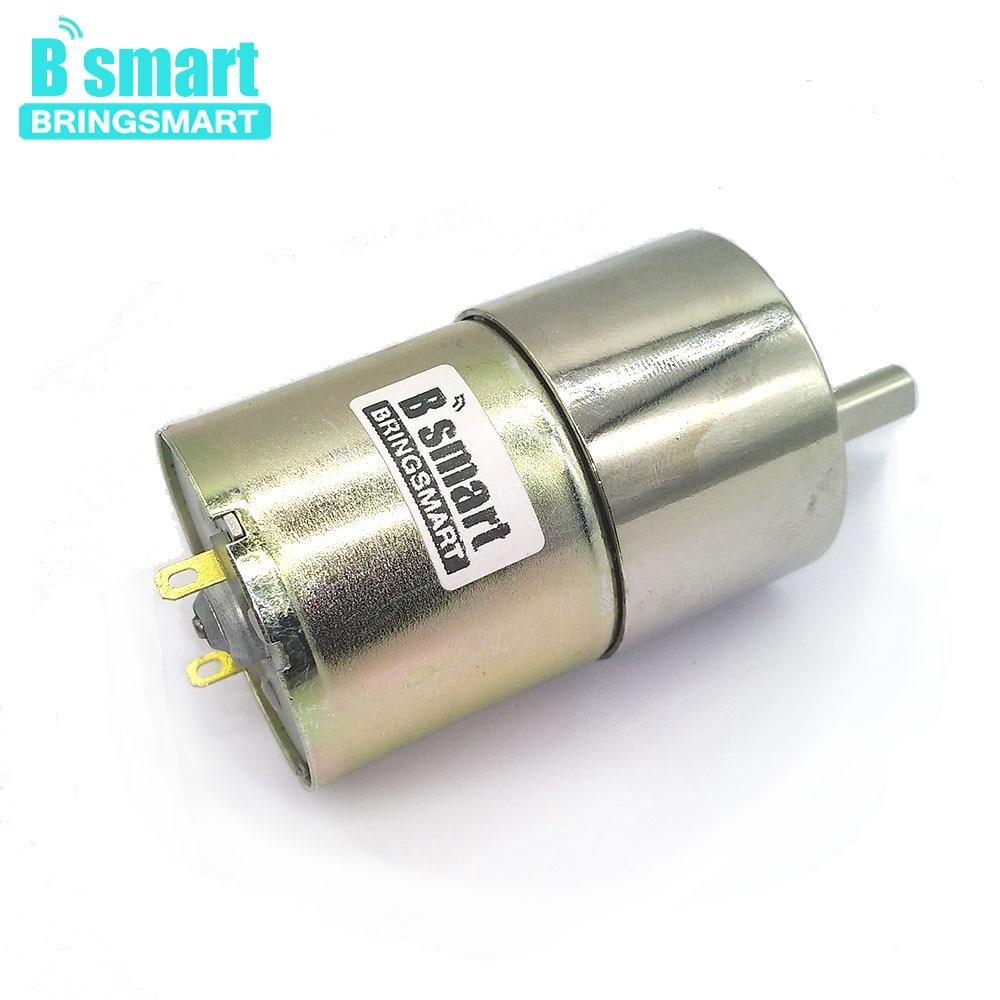 Electric Gearbox Replace DC Gear Motor 37mm Diameter High Torque 12V 960RPM