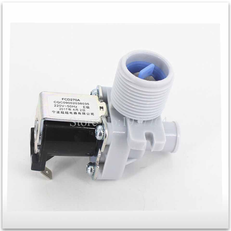 washing machine machine double inlet valve JSF-1 FCD270A FCD180A good working b1jx self washing machine pvc inlet pipe white silvery grey 2 8m