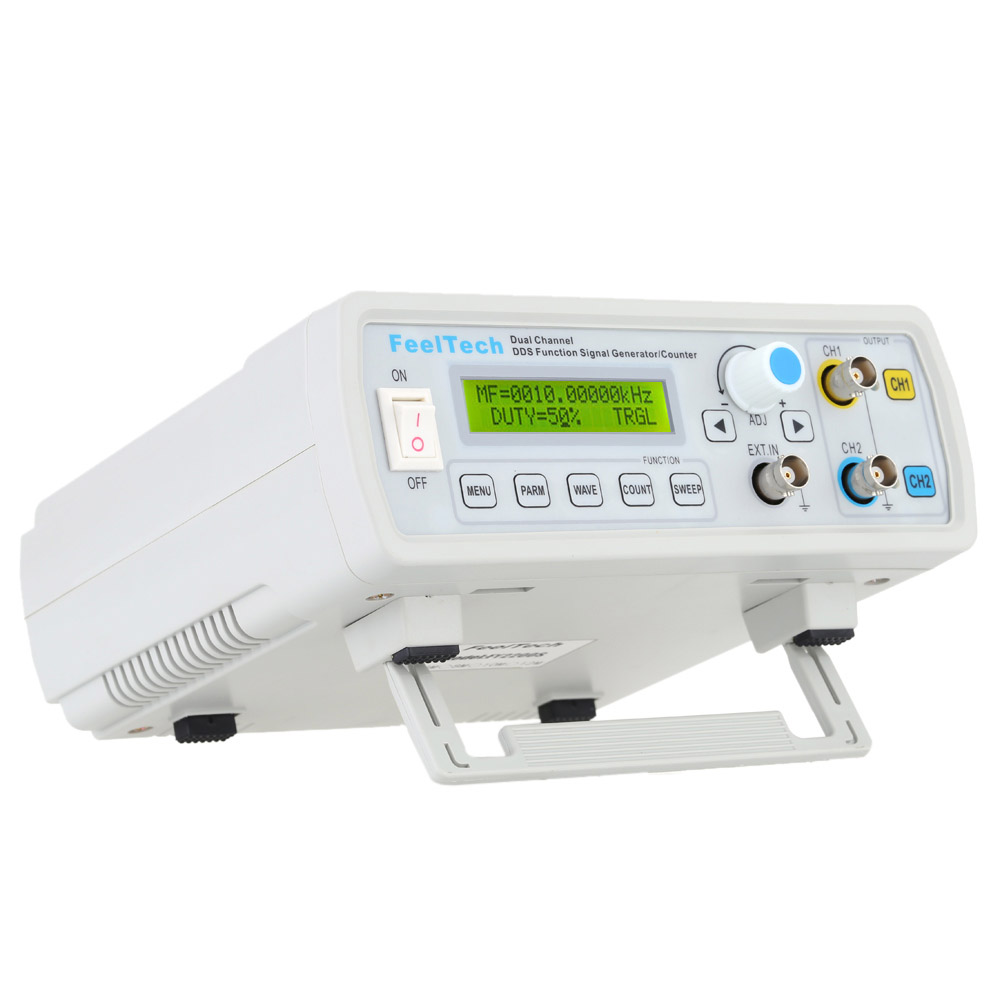 High Precision signal generator Digital DDS Function Generator Dual Channel Frequency Generator Meter Sine/Square Waveform 6MHz mhs 5212p power high precision digital dual channel dds signal generator arbitrary waveform generator 6mhz amplifier 80khz