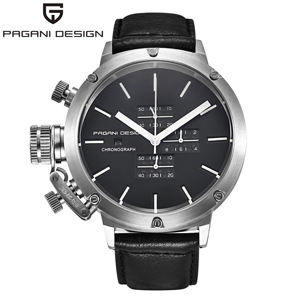 Оригинальный PAGANI Дизайн Спортивные часы Для мужчин многофункциональный Dive Уникальный инновационный хронограф кварц-часы Для мужчин Relogio ...