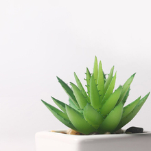 home garden office decoration artificial succulents mini succulent plants nep planten kunstplanten outdoor decor H0020