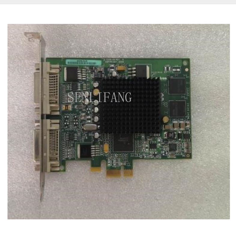 Free Shipping  10N7756 For 5748 GXT145 PCI-E POWER6 POWER7 Graphics Card Pulled From Working Machine Well Tested