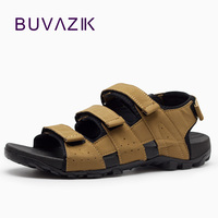 2018 zapatillas hombre new gladiator sandals casual men shoes summer sandalias leather sandal freeshipping